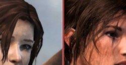 Tomb Raider คลิปเปรียบเทียบความแตกต่างบน PS3 และ PS4