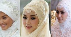 ชุดแต่งงานพิ้งกี้ และชุดเจ้าสาวอิสลามของดาราในวงการสวยสง่าสุดๆ