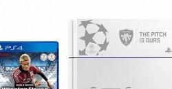 PS4 รุ่นพิเศษสกรีนโลโก้รายการฟุตบอลชิงแชมป์สโมสรยุโรป