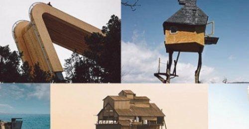 แบบบ้านและสถาปัตยกรรมแปลกๆ จากทั่วโลก เห็นแล้วมีเสียว!