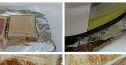 ทำแซนด์วิชอบเองได้ง่ายๆ สไตล์เด็กหอ ขอแค่มีเตารีด! คิดได้ไงเนี่ย?