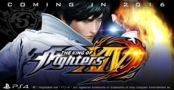 The King of Fighters XIV  ภาคใหม่ล่าสุดเปิดตัวบน PS4 วางขายต้นปี 2016