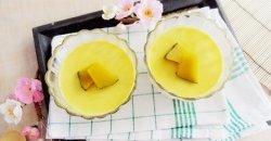 พุดดิ้งฟักทองนมสด ของหวานง่าย ๆ จากนมโรงเรียนของคุณหนู ๆ
