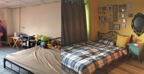 รีโนเวทห้องนอน เก่า 20 ปี ให้น่านอนมากกว่าเดิม เปลี่ยนไปอย่างกับคนละห้อง สวยมาก!