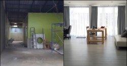แบบบ้านชั้นเดียว แปลงโฉมทาวน์เฮ้าชั้นเดียวอายุ 20 ปี มาเป็น Home Studio แบบ minimal เก๋ ๆ ชิค ๆ