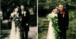 คู่รัก วัย 98 ปี!! ถ่ายภาพแต่งงานอีกครั้งหลังใช้ชีวิตคู่ด้วยกันมา 70 ปี! แถมยังสวีทสุดๆ