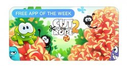 Cut the Rope 2  เกมยอดนิยม เเจกฟรี บน App Store รีบโหลดด่วน