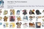Facebook แจกฟรีสติกเกอร์ Star Wars: The Force Awakens โหลดใช้งานได้ฟรี