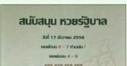 หวยกลุ่มเลขเด็ดคุณพ่อใจดี 17/12/2558 กลุ่มเลขเด็ดคุณพ่อใจดี
