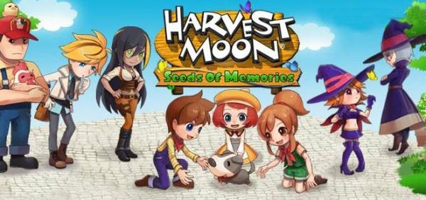 Harvest Moon: Seeds Of Memories ปล่อยลง iOS บน App store เเล้ว