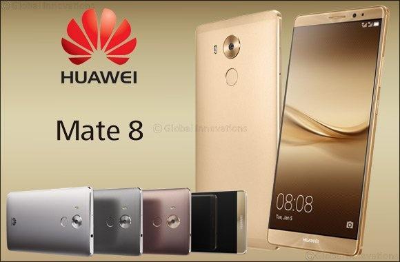 Huawei Mate 8 สมาร์ทโฟนระดับพรีเมี่ยม เปิดตัวในไทยเเล้วราคา 23,990