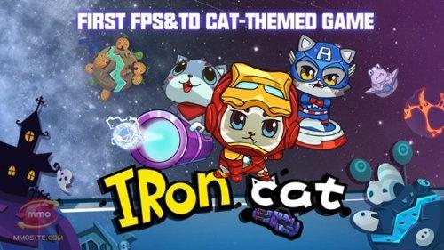 Iron Cat  เกมมือถือใหม่ มาเเรงปล่อยดาวน์โหลดฟรีบน Android