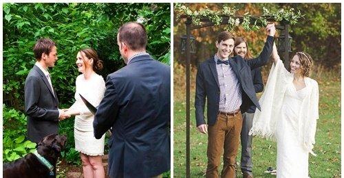 งานแต่งงาน เล็กๆ ที่แสนเรียบง่ายของคู่รัก ถึงงานไม่ยิ่งใหญ่ แต่เต็มเปี่ยมไปด้วยความสุข