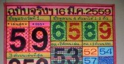 เลขเด็ดงวดนี้ ขวัญใจนักเสี่ยง เงินเทวดา เลขแม่น โชครวย 16/03/2559