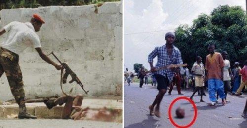 10 ภาพสุดสะเทือนอารมณ์ของสงครามกลางเมืองในไลบีเรีย ความขัดแย้งที่แลกมาด้วยการสูญเสีย!!