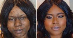 12 ภาพผู้หญิงก่อนแต่งหน้า VS หลังแต่งหน้า ที่จะทำให้คุณสะพรึง!! ตกใจหนักมาก!!