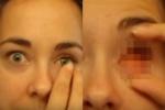 คนเราไม่มีลูกตาจะเป็นยังไง สาวตาสวยจะมาล้วงสดๆให้ดู (ไม่เหมาะกับคนขวัญอ่อน)