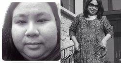 สาวหนักเกือบ 100 กิโล โชว์เคล็ดลับการลดน้ำหนักแบบหวานๆ กับภาพความเปลี่ยนแปลงที่น่าทึ่ง!!