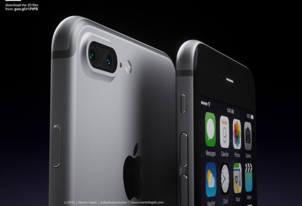 iPhone 7 Plus  ลือ !!!จะมาพร้อมกล้องหลังเลนส์คู่จริงหรือนี่??!