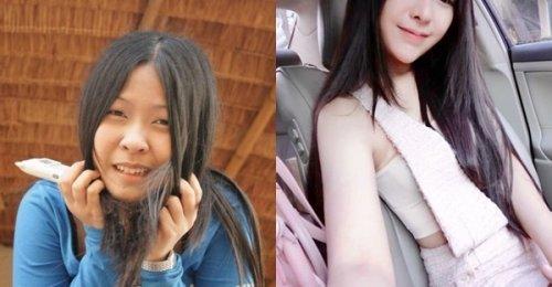 ที่สวยขึ้นเพราะรักตัวเอง! สาวเผยภาพความเปลี่ยนแปลง เห็นรูป before-after นึกว่าคนละคน!