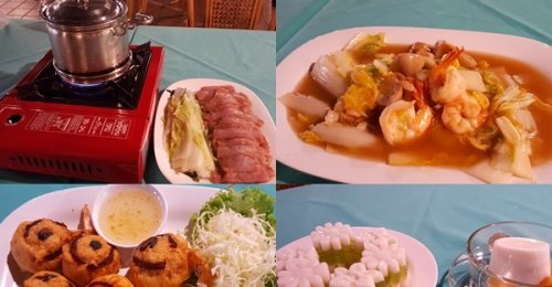 ฝ้ายคำ ร้านอาหารไทย-จีนรสเด็ด ย่านบางนา-ตราด