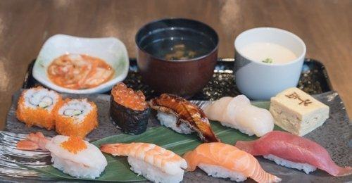 ซูชิต้นตำรับเอโดะ เซนเรียวซูชิเซ็ท @ Sen-Ryo Sushi ทองหล่อ