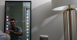 Apple Mirror ชายคนนี้สร้างหน้าจอทัชสกรีนบนกระจกบานใหญ่ ให้กลายเป็น iPhone ระบบ iOS 10 ขนาดยักษ์
