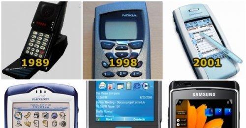 ชมวิวัฒนาการดีไซน์หน้าตาโทรศัพท์มือถือตั้งแต่ปี 1983-2009 กว่าจะมาถึงจุดนี้หน้าตาเปลี่ยนไปมากแค่ไหน