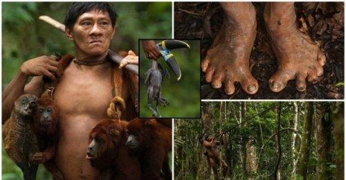 ชนเผ่าแอมะซอนผู้ฆ่าและกินลิงเป็นอาหาร ตามติดการใช้ชีวิตที่ทำให้พวกเขาถูกถ่ายทอดให้มีลักษณะเท้าแบน