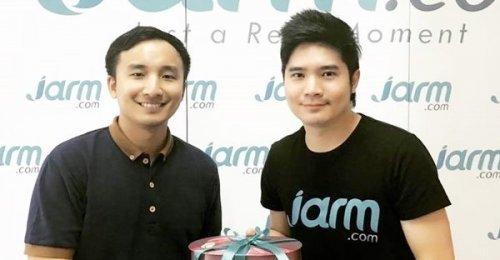 ผู้บริหารจากเว็บไซต์ IGDARA แวะมาสวัสดีปีใหม่ Jarm.com