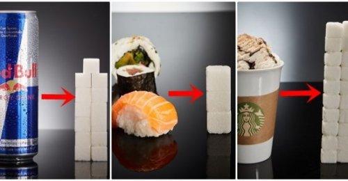 ปริมาณน้ำตาลในของที่เรากินเทียบเท่ากับน้ำตาลก้อนกี่ก้อน!! นี่คือจำนวนที่ได้ในของแต่ละอย่าง เช็คด่วน!