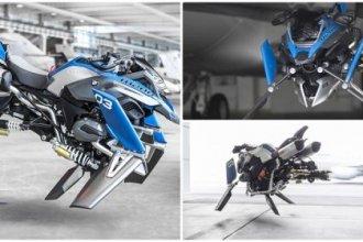 BMW เผยวัตกรรมใหม่ มอเตอร์ไซค์บินได้!! ใกล้เกิดขึ้นแล้ว หลังใช้ต้นแบบจากโมเดลของเล่นต่อเลโก้!!