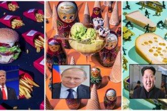 อาหารโปรดผู้นำโลก!! ภาพออกแบบเผยของโปรดผู้นำแต่ละคน ที่ทำให้รู้ว่าพวกเขาก็กินของไม่มีประโยชน์เช่นกัน