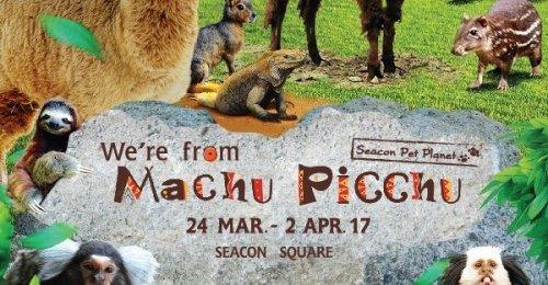 ซีคอนสแควร์ จัดงาน We're from Machu Picchu สัมผัสความมหัศจรรย์ของสัตว์แห่งนครโบราณ มาชู ปิกชู
