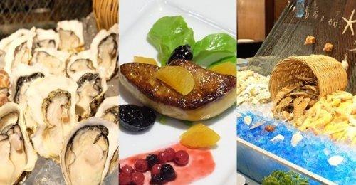 โรงแรมแกรนด์ สุขุมวิท กับบุฟเฟต์อาหารทะเลนานาชนิด ที่มาพร้อมความอร่อยเด็ดของฟัวกราส์