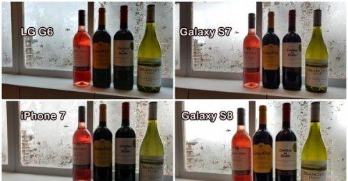 Samsung Galaxy S8 vs. iPhone 7 vs.LG G6 เปรียบเทียบภาพจากกล้องทั้ง4รุ่น ใครดีกว่า พิสูจน์ด้วยตาคุณ!!