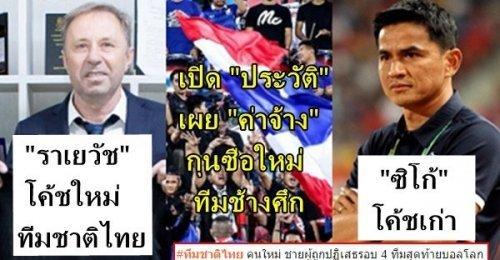 มิโลวาน ราเยวัช โค้ชคนใหม่ทีมชาติไทย เปิดประวัติพร้อมเผยจำนวนค่าจ้าง! ประเดิม 3 เกมแรกพิสูจน์ผลงาน