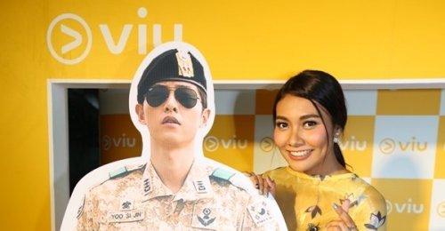 แก้ม วิชญาณี สาวกคอนเทนต์เกาหลีตัวแม่ ร่วมงานเปิดตัวแพลตฟอร์ม Viu ครั้งแรกในประเทศไทย