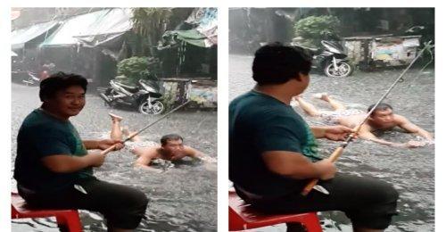 คนไทยไม่ซีเรียส ฝนตกแล้วยังไง เมื่อแก้ไขไม่ได้ก็ใช้ชีวิตอยู่กับมัน สุขซะอย่าง