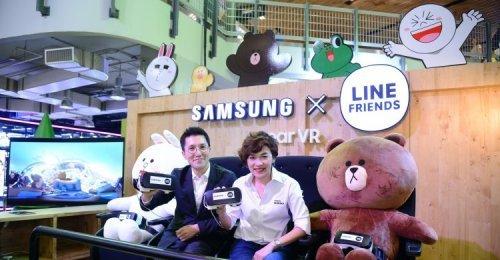 ซัมซุง-LINE FRIENDS จัด SAMSUNG X LINE FRIENDS Pop Up Event ในรูปแบบอินเตอร์แอคทีฟครั้งแรกในเมืองไทย