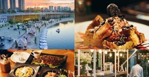 บรีซ คาเฟ่ แอนด์ บาร์ ร้านอาหารวิวสวยริมทะเลสาบเมืองทองธานี บรรยากาศชวนฟินสุดๆ