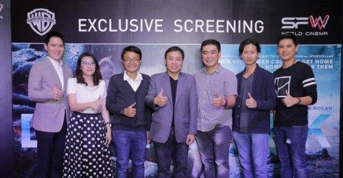 เอส เอฟ คว้าใจแฟนหนัง โนแลน ชาวไทย จัดงาน Exclusive Screening Dunkirk - 3 กรูรูชื่อดัง ร่วมพูดคุย