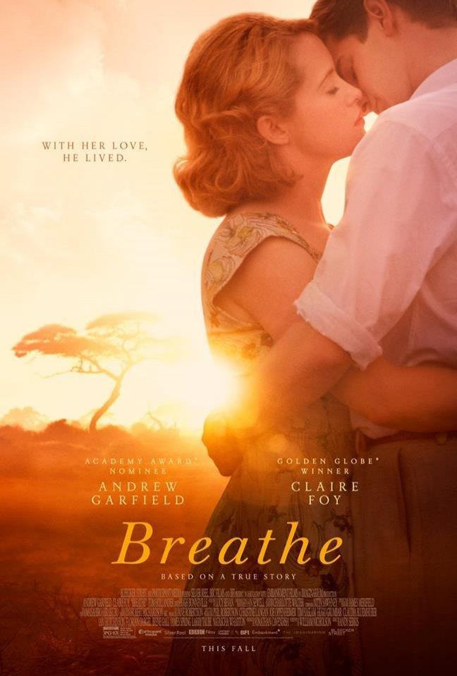 จะดีแค่ไหนถ้าเราหาคนที่รักเราจริง ๆ เจอ ในโปสเตอร์ล่าสุด Breathe ผลงานจากผู้เขียนบท 2 รางวัลออสการ์