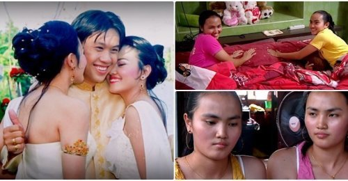 เปิดใจแฝดสาวชาวไทย แต่งงานและแชร์สามีร่วมกัน การใช้ชีวิต และความรู้สึกหากคนใดท้องก่อน (คลิป)