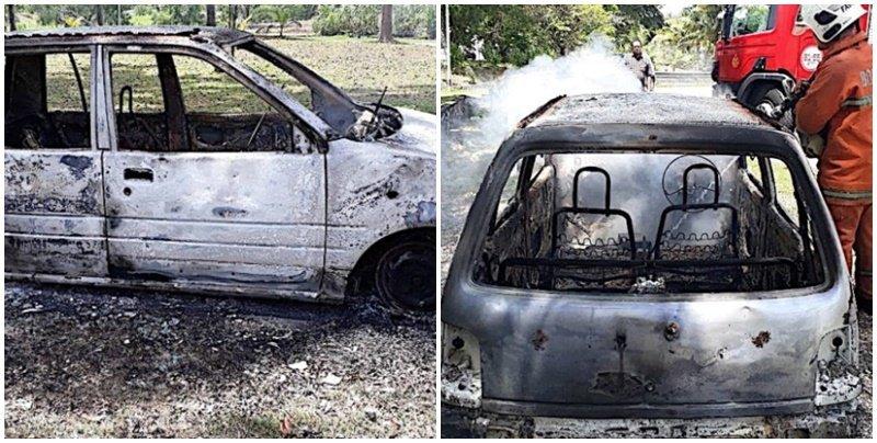 ภรรยาทนไม่ไหว ไม่ยอมซื้อรถใหม่สักที จุดไฟเผารถสุดรักของสามีจนวอด มัดมือชกให้ได้คันใหม่!!